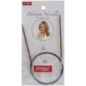 Premier Fixed Circular Knitting Needles 80cm