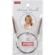 Premier Yarns Deborah Norville Fixed Circular Needles, 16-Inch, 9/5.5mm