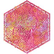 Go! Fabric Cutting Dies-Hexagon-10cm - 0.6cm Sides