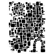 Joggles Stencil 23cm x 30cm -Ancient Ruins