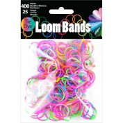 Loom Bands Assortment 425/Pkg-Tie-Dye
