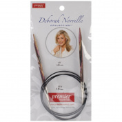 Premier Yarns Deborah Norville Fixed Circular Needles, 40-Inch, 9/5.5mm 072321
