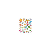 Multicoloured Stickers-Summer Icons