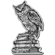 Stampendous Cling Rubber Stamp 8.9cm x 10cm Sheet-Literary Owl
