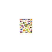 Multicoloured Stickers-Reef Fish