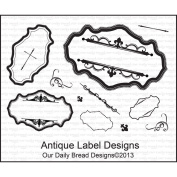 Our Daily Bread Clear Stamp 15cm x 8.9cm -Antique Label Designs