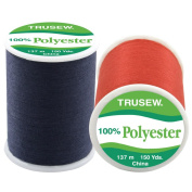 Tru-Sew Promotional Thread 150 Yards-Assorted Colours