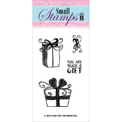 Hot Off The Press Acrylic Stamps 5.1cm x 8.3cm Sheet-Gifts