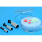 Plunger Cutters 3/Pkg-Heart Shape