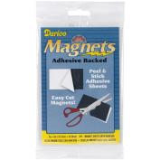 Adhesive Magnetic Sheet-10cm x 15cm 3/Pkg