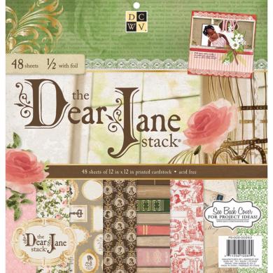 Paper Stack 30cm x 30cm 48/Pkg-Dear Jane