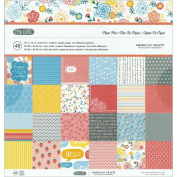 American Crafts Paper Pad 30cm x 30cm 48/Pkg-My Girl