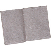 "Linen Mini Journal 10cm ""X3""""-4 Stitched Pages"