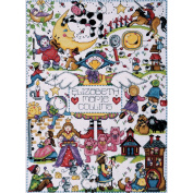 Design Works Counted Cross Stitch Kit 28cm x 38cm