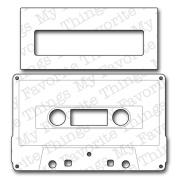 Die-Namics Dies-Accent It - Cassette Tape, 10cm x 6.4cm