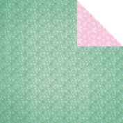 Summer Breeze Double-Sided Cardstock 30cm x 30cm -Sprout