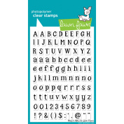 Lawn Fawn Clear Stamps 10cm x 15cm -Riley's ABCs