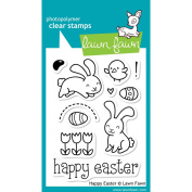 Lawn Fawn Clear Stamps 7.6cm x 10cm -Happy Easter