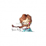 Stamping Bella Cling Rubber Stamp 7.6cm x 10cm -Yours Truly