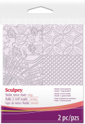 Sculpey Texture Sheet-Edgy