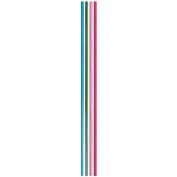Slender Candles 17cm 24/Pkg-Assorted Colours