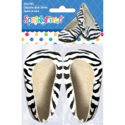 Springfield Collection Ballet Flats-Zebra