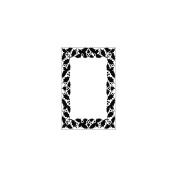 Crafts-Too Embossing Folder 10cm x 15cm -Berry Frame