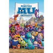 Trends International Unframed Poster Prints, Monsters University