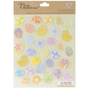 Life's Little Occasions Sticker Medley-Easter Eggs