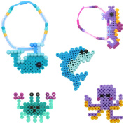 Perler Snap-Ins Fun Fusion Fuse Bead Activity Kit-Ocean Bracelet