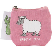 Vanessa Bee Coin Purse-Fab-Ewe-Lous