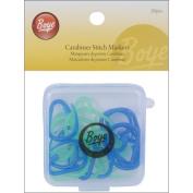 Carabiner Stitch Markers-20/Pkg 075253 Boye