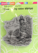 Stampendous Cling Rubber Stamp 14cm x 11cm Sheet-Marblehead Lighthouse