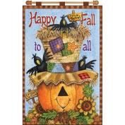 Happy Fall Jewelled Banner Kit-41cm x 60cm