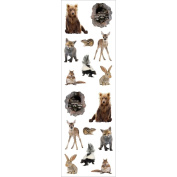 Mrs. Grossman's Stickers-Baby Woodland Animals