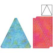 Go! Fabric Cutting Die-Triangles In Square -10cm x 10cm