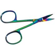 Curved Tip Scissors 7.6cm - 1.3cm -Rainbow