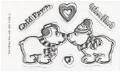 Hot Off The Press Acrylic Stamps 5.1cm x 8.3cm Sheet-Polar Bears