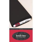 Kraft-Tex Kraft Paper Fabric, Black, 48cm x 10yd