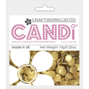 Candi Dot Colour Pop Embellishments .1040ml-Gold Bar