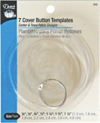 Cover Button Templates, 7 Sizes