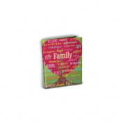 Mini Photo Album 10cm x 15cm Holds 24 Photos-Family