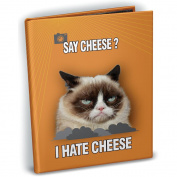 Grumpy Cat Mini Photo Album, 10cm x 15cm , Holds 24 Photos-Say Cheese