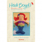 Heidi Boyd Bubbles Softie Whimsy Kit-20cm x 15cm