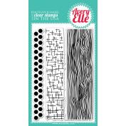 Avery Elle Clear Stamp Set 10cm x 15cm -Woodgrain & More