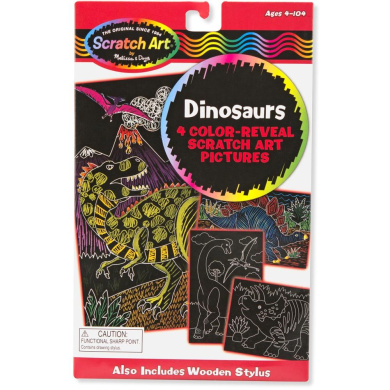 Color-Reveal Pictures-Dinosaurs
