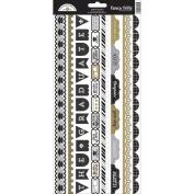 The Graduates Cardstock Stickers 15cm x 33cm -Fancy Frills