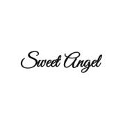 Angel Wings Cling Mounted Stamp 8.9cm x 2.5cm -Sweet Angel