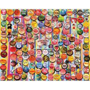 Jigsaw Puzzle 1000 Pieces 60cm x 80cm -Soda Caps