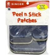 Singer Peel N Stick Patches Assorted Sizes 18/Pkg